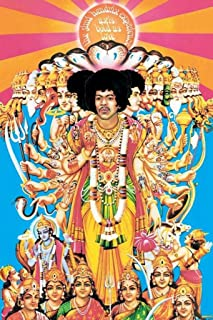 Pyramid America Jimi Hendrix Axis Bold Poster Print