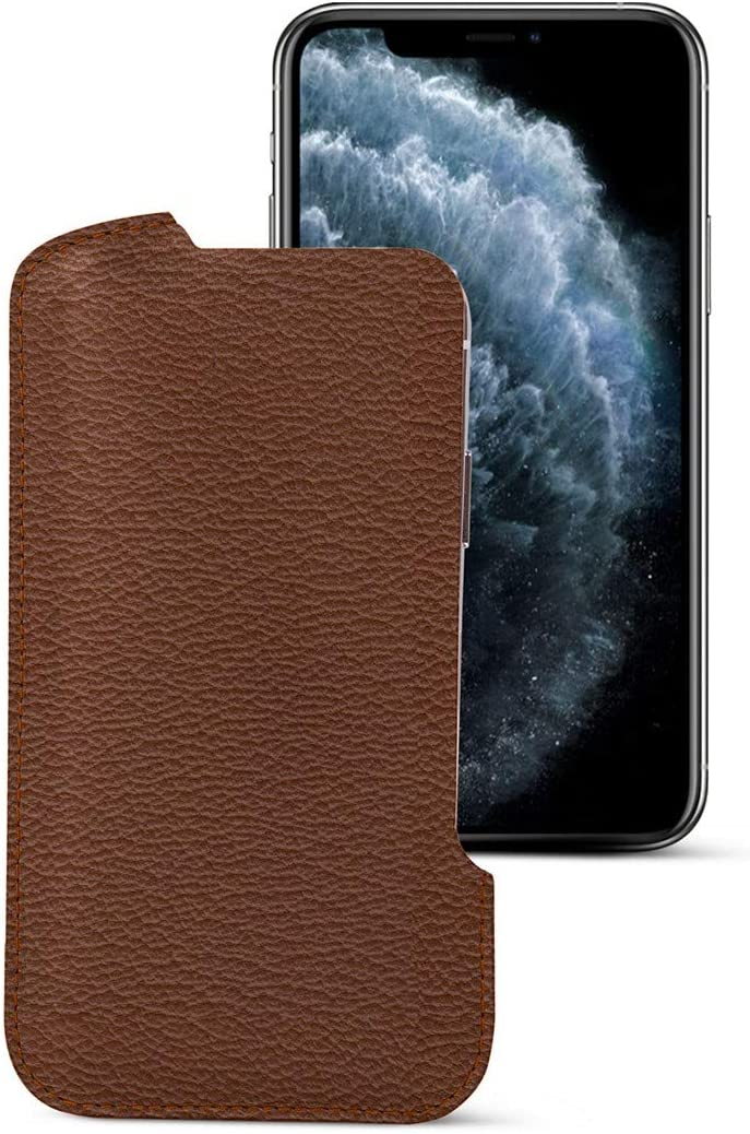 Lucrin - Leather Pouch Long-awaited Cover Compatible Pro 11 Max with i 2021 new iPhone