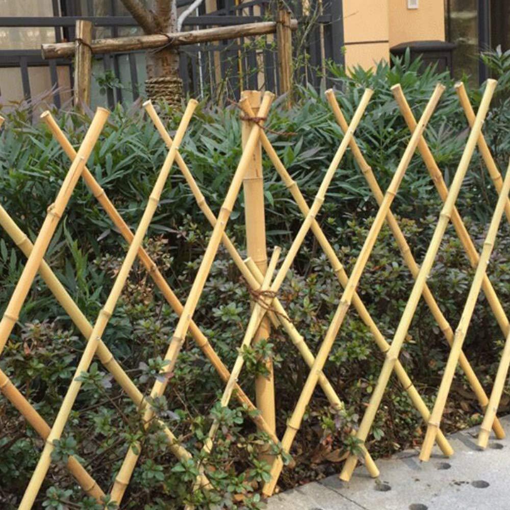 YOGANHJAT Celosia Madera Extensible bambú Resistente para Plantas De pie Valla jardín Planta Apoyo Pannels enrejados Decoración de balcón Seto Artificial Extensible 180 * 60cm: Amazon.es: Hogar