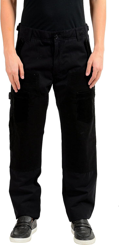 Dolce & Gabbana Men's Black Casual Pants US 32 IT 48