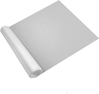 Forro de cajones - 3 Rollos   Alfombrilla lavable e impermeable para nevera   Armario, estante y protector de cajones   Revestimiento de encimera personalizable   Pukkr