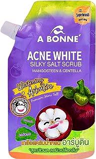 ACNE WHITE SILKY SALT SCRUB MANGOSTEEN & CENTELLA: Moisturize & Rejuvenate Dull Dry Skin Bright Smooth Soft Skin, Vitamin ...