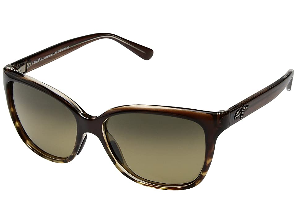 Maui Jim Starfish (Translucent Chocolate/Tortoise/HCL Bronze) Athletic Performance Sport Sunglasses