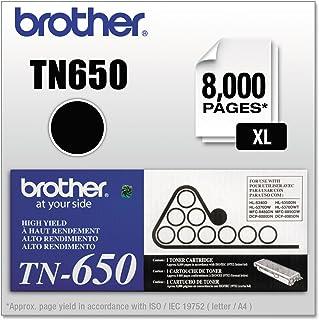 Cartucho de toner Brother TN-650 (preto, 1 unidade)