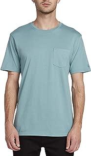 Volcom Men's Solid Stone Modern Fit Short Sleeve Tee