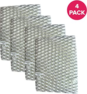 Crucial Air Filter Replacement Parts Compatible with ReliOn Part # WF813 - Fits ReliOn WF813 2-Pack Humidifier Wicking Filters, Fits ReliOn RCM832 (RCM-832) RCM-832N, DH-832 and DH-830 Vac (4 Pack)