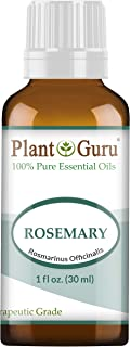 Rosemary Essential Oil 1 oz / 30 ml 100% Pure Undiluted Therapeutic Grade for Aromatherapy Diffuser, Stimulates Hair Growth and Dandruff Control.