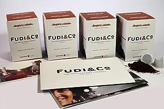 Fudi&Co - DESPIERTO Y SOÑANDO - Café de especialidad de Costa Rica - 4 Paquetes de 10 Cápsulas c/u Compatibles Nespresso ® - 100% Compostable