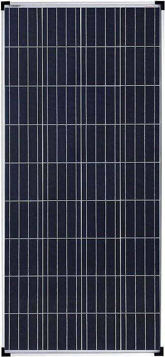 Pannello solare policristallino ideale per case mobili casette da giardino barche (160w)enjoy solar poly 12v 4260558571735