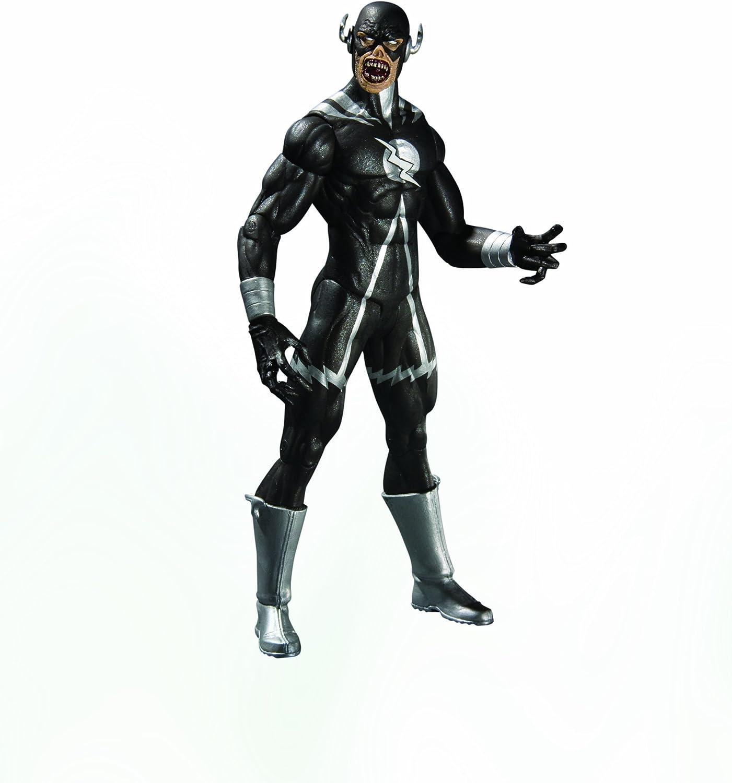 DC Direct Blackest Night  Series 8  Black Lantern Black Flash Action Figure