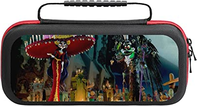 $20 » Book of Life Bag, Switch Travel Carrying Case for Switch Lite Console and Accessories, Shell Protective Cover Organizer St...