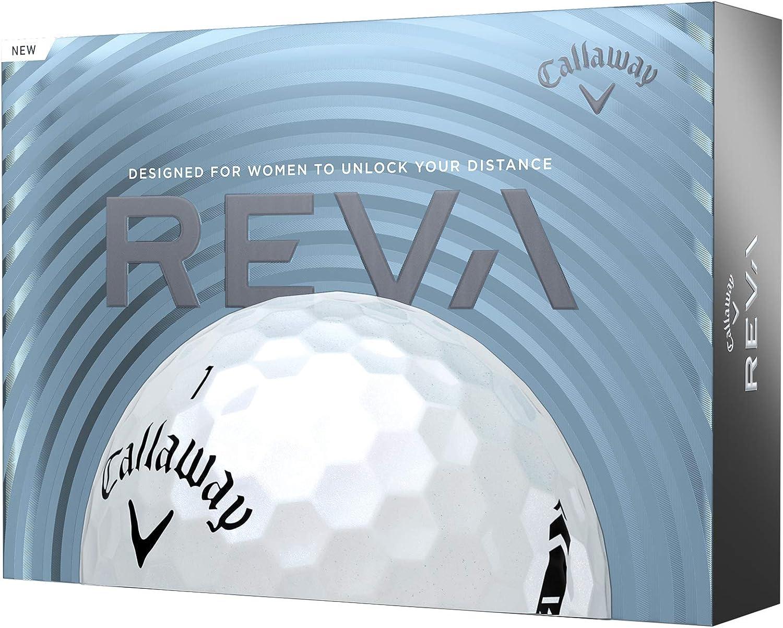 Callaway Tucson Mall 2021 REVA Golf Balls Challenge the lowest price of Japan ☆ One Dozen