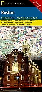 Boston (National Geographic Destination City Map)