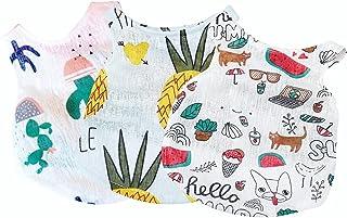 Sebaoyu Dogs Clothes for Girls Boy Summer Dog Shirts Cute Puppy Vest Pet Sweatshirt Pineapple/Watermelon for Small,Medium,...
