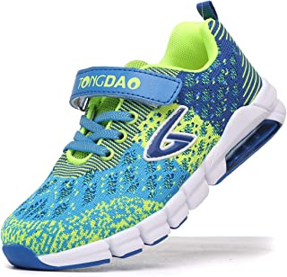 Impdoo Boys Athletic Running Tennis Shoes Casual Lightweight Sports Walking Sneakers for Kids
