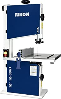"Rikon 10-3061 10"" Deluxe Bandsaw, Includes Fence and Two Blade Speeds"