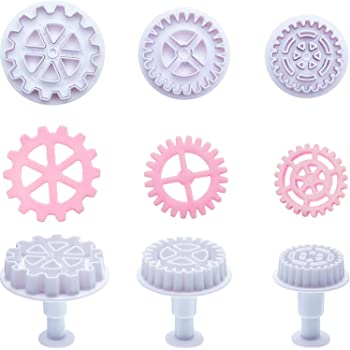 6PCS Sports Running Model Cake Cookie Chocolate Printing Mold Kid Cookice Cutter