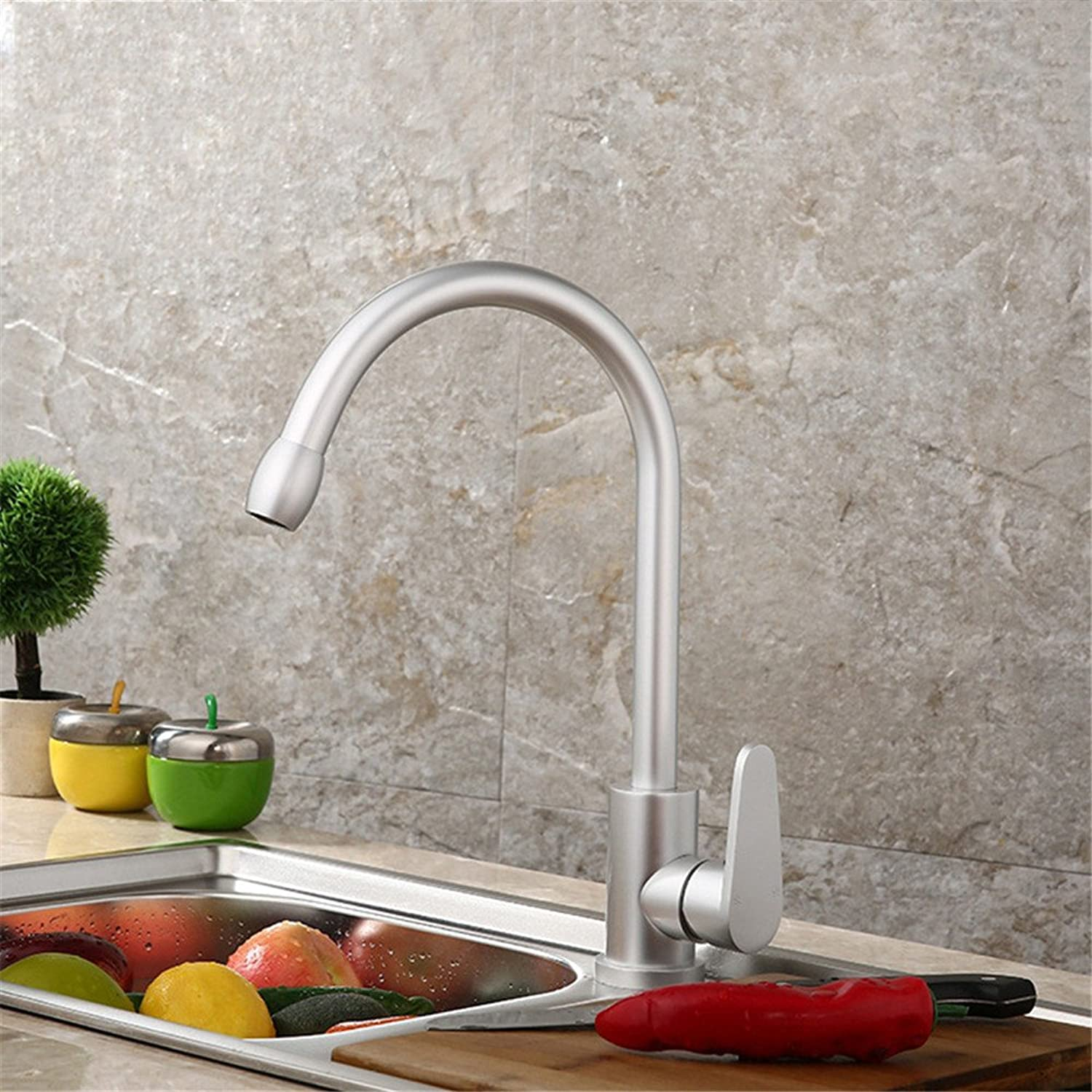 TYAW-SHOP Kitchen faucet sink basin of hot and cold dishes, lead-free toilet-table tub bath
