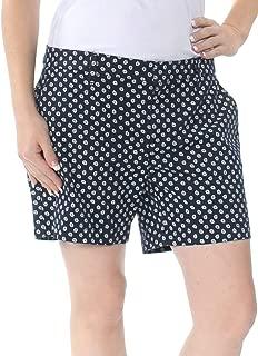 Womens Printed Daisey Casual Shorts