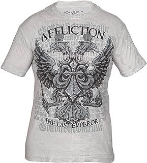 Affliction Fedor Emelianenko Warbird A1088 Short Sleeve Graphic Fashion MMA T-Shirt Top for Men