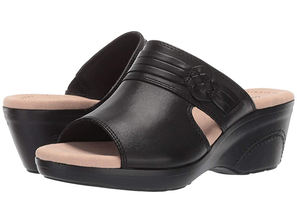 Clarks Lynette Trudie (Black Leather) Women