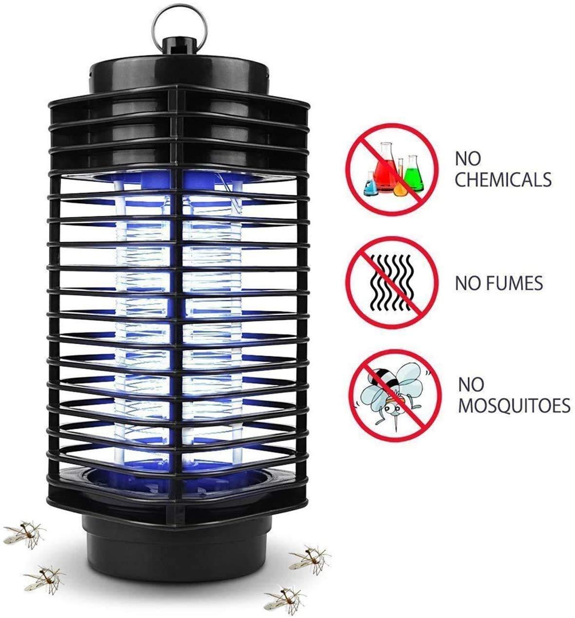 iweed Lámpara Antimosquitos Electrico Mata Mosquitos Moscas ...