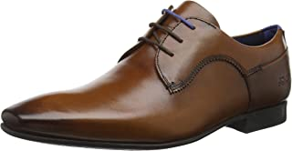 Men's Tifir Leather Lace Up Formal Shoe Tan