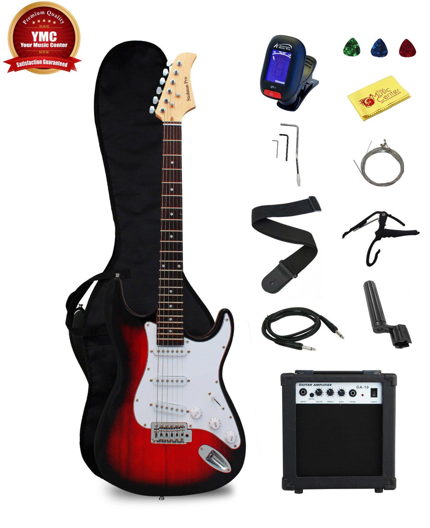 Stedman Pro Principiante Series 39-inch Guitarra Eléctrica con de ...