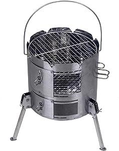Potjieking Outdoor Charcoal Grill Versatile