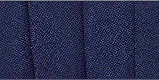 Wrights 117-206-055 Fita de viés dupla extra larga, azul-marinho, 3 metros