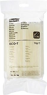 RAPID – Bâtons de colle ECO-T – Diamètre : 12 mm – Colle transparente en EVA et résine – Usage universel – Sachet de 1 kg...