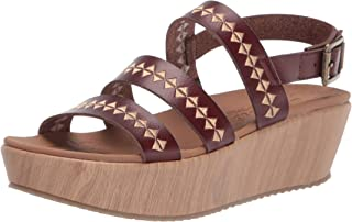 Skechers BECKA - Counting Summers womens Wedge Sandal