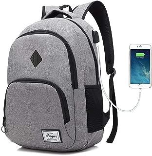 AUGUR Laptop College Backpack 15.6 inch School Book Bag Travel Daypack Rucksack