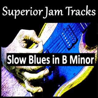 Liquid Stone Slow Blues Guitar Backing Track in B Minor