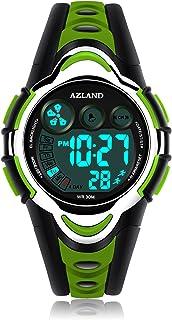 AZLAND Waterproof Swimming Frozen Sports Watch Boys Girls...