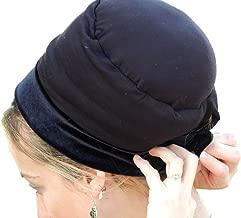 Sara Attali Design Tichel Mousse Volumizer & Anti Slip Headband Headcovering Headscarf One Size Black