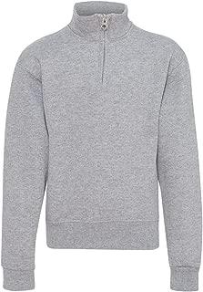 Jerzees Youth 8 oz. 50/50 NuBlend Quarter-Zip Cadet Collar Sweatshirt