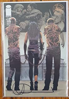The Walking Dead (2013 Image Comics) Issue #115 Cover C - Year 2 Michonne and Pets Near Mint+ Signed by Artist Charlie Adlard with Certificate of Authenticity (COA)