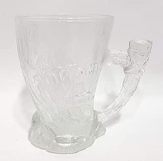 McDonald's The Flintstones Glass ( 1993 / Mammoth Mug / 4 1/2