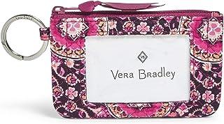 Vera Bradley Women's Signature Cotton Zip ID Case Wallet