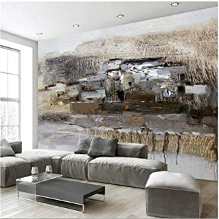 Custom Fresco Wallpaper Any Size Fresh and Elegant Nature Abstract Oil Painting Background Wall Wallpaper 3d-140cmx110cm