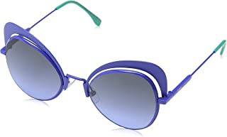 نظارات شمسية من فيندي باطار ازرق 0247/S PJP/GB 54