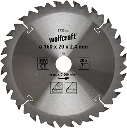 0 W 210 mm Set de 2 Piezas 0 V Wolfcraft 2673000 Hojas de Sierra de Sable bimetal Corte Basto