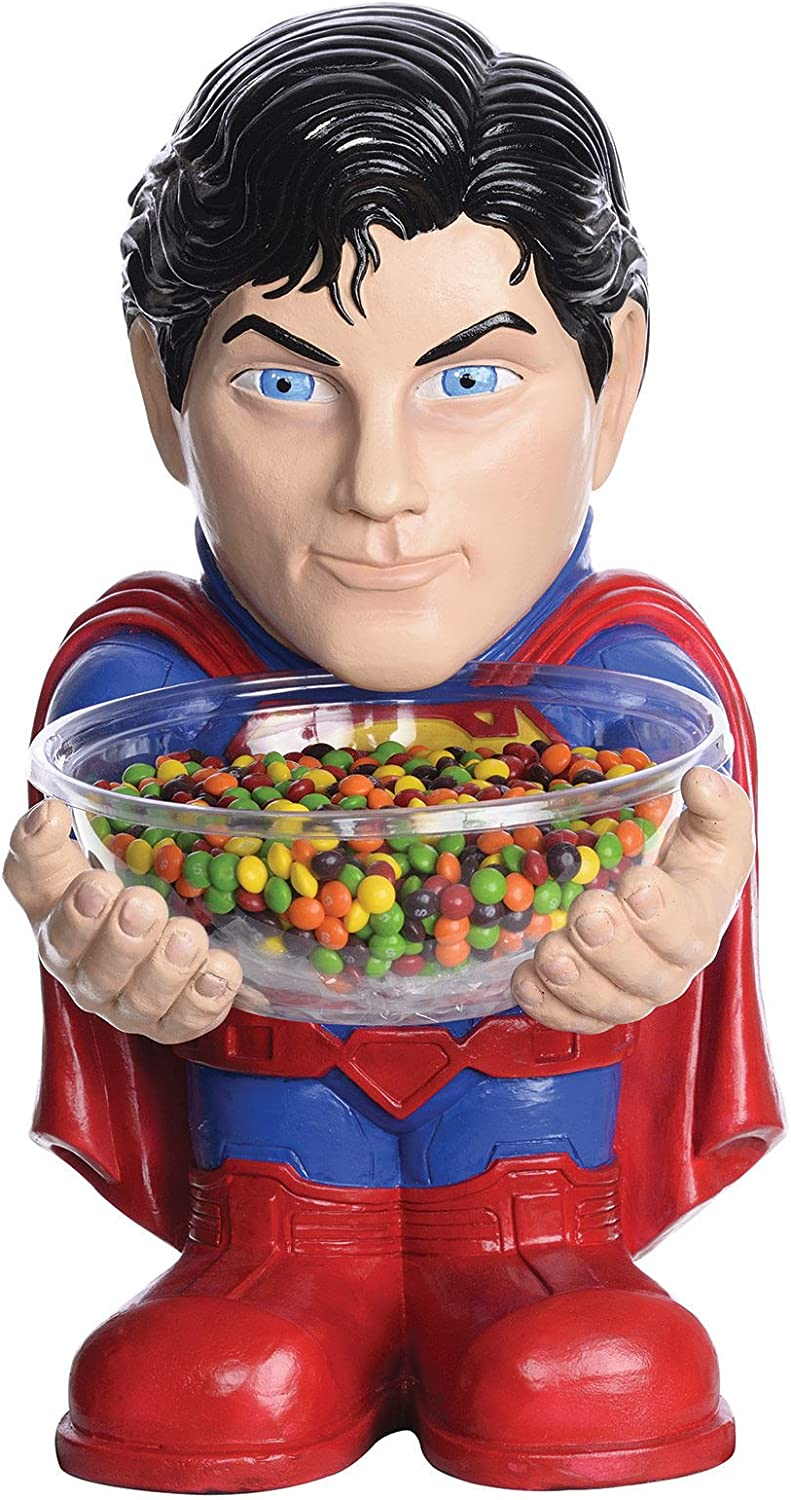 DC Comics Superman Candy Bowl Holder red bluee 40cm