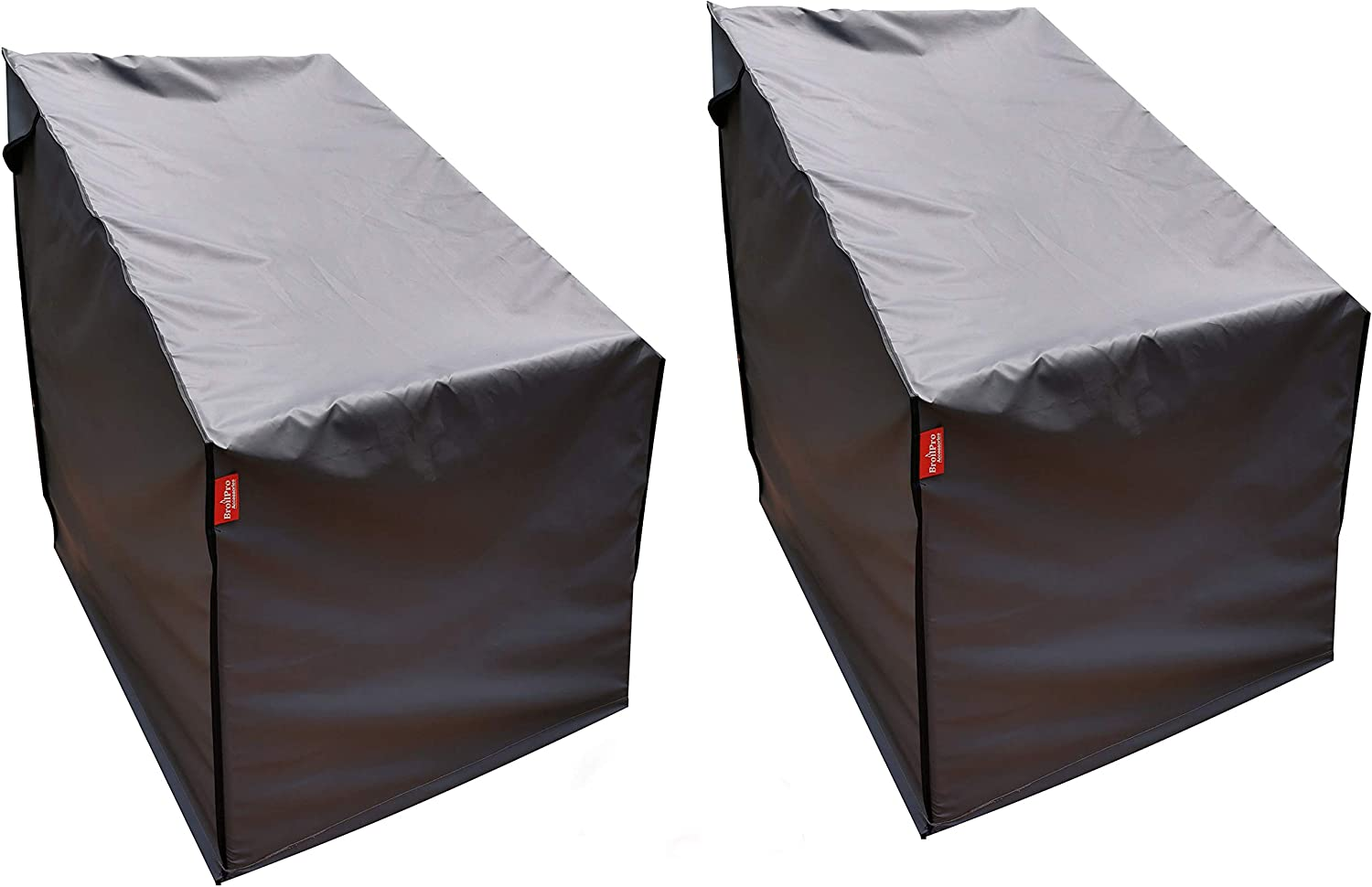 BroilPro Accessories Stackable Patio Chair Cover W and Outlet ☆ Free Shipping Durable Industry No. 1