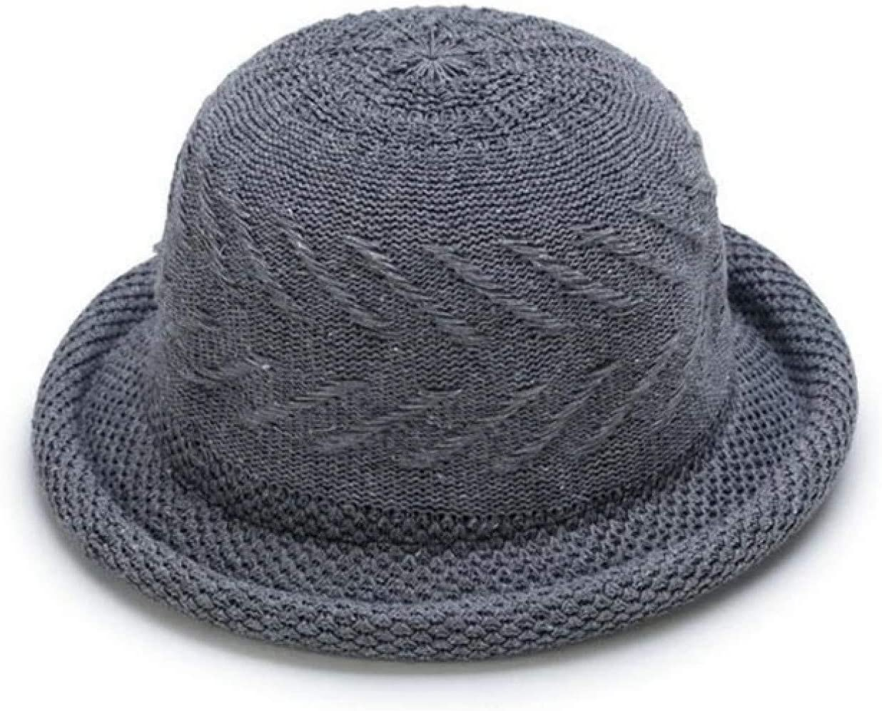 BAJIE Fedora For Autumn And Winter Hat Fashion Ladies Accessories Bucket Hat Hat Female Pot Cover