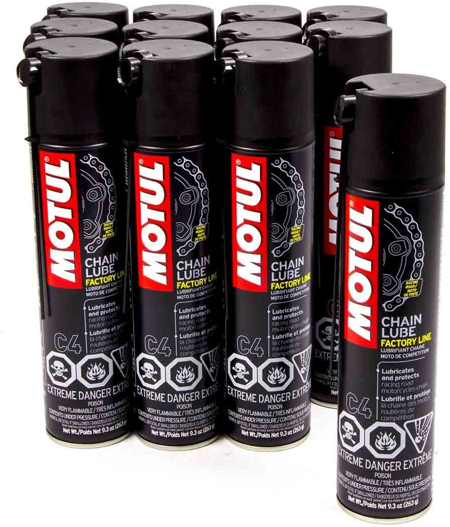 Motul 103246-12 C4 Chain Lube 12 oz. Case 9.3 Challenge the lowest price of Japan ☆ Popular of