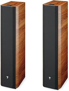 Focal Chorus 716 2 1/2 Way Bass Reflex Floorstanding Speaker - Pair (Walnut)
