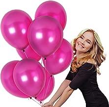pearl magenta balloons