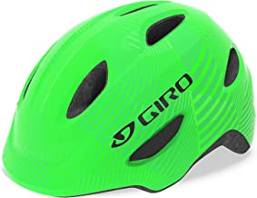 Giro Scamp Youth Recreational Bike Cycling Helmet - Extra Small (45-49 cm), Green/Lime (2021)